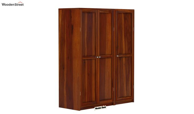 Citroen Multi Utility Wardrobe (Honey Finish)-1