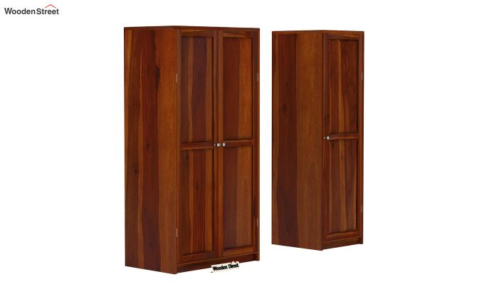 Citroen Multi Utility Wardrobe (Honey Finish)-3