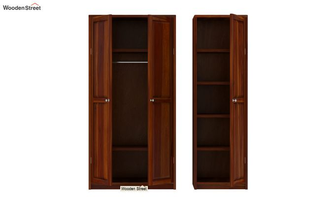 Citroen Multi Utility Wardrobe (Honey Finish)-5