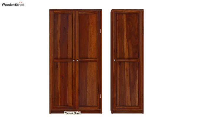 Citroen Multi Utility Wardrobe (Honey Finish)-4