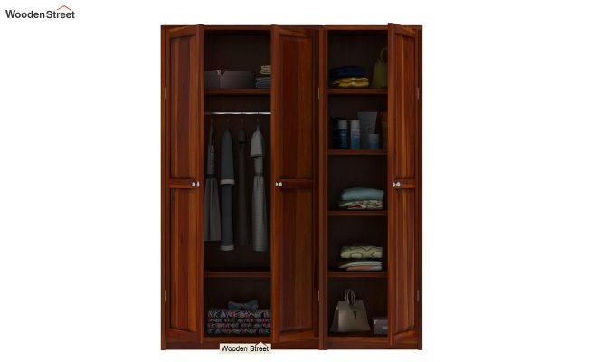 Citroen Multi Utility Wardrobe (Honey Finish)-6