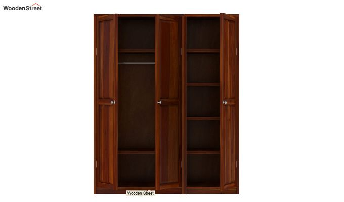 Citroen Multi Utility Wardrobe (Honey Finish)-7