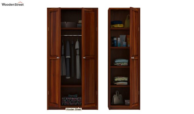 Citroen Multi Utility Wardrobe (Honey Finish)-8