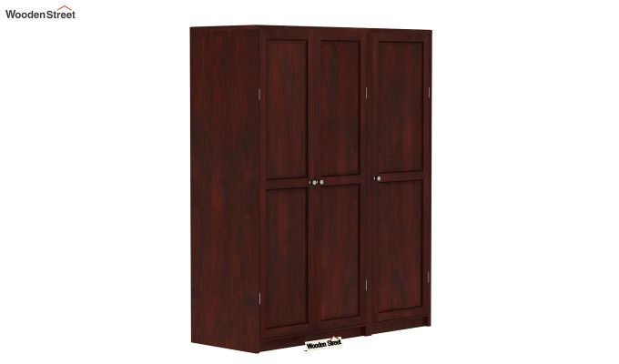 Citroen Multi Utility Wardrobe (Mahogany Finish)-1