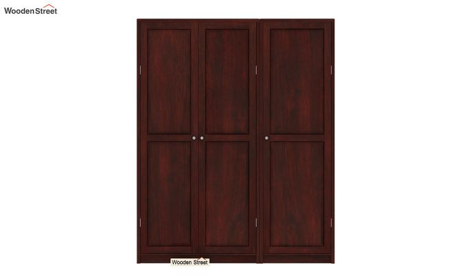 Citroen Multi Utility Wardrobe (Mahogany Finish)-2