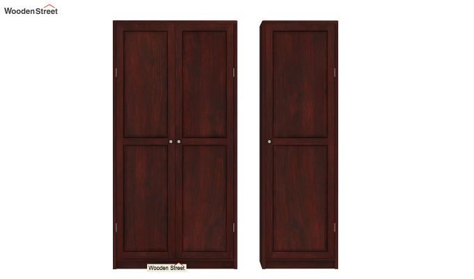 Citroen Multi Utility Wardrobe (Mahogany Finish)-5