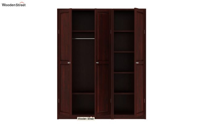 Citroen Multi Utility Wardrobe (Mahogany Finish)-7