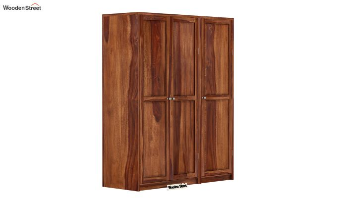 Citroen Multi Utility Wardrobe (Teak Finish)-1