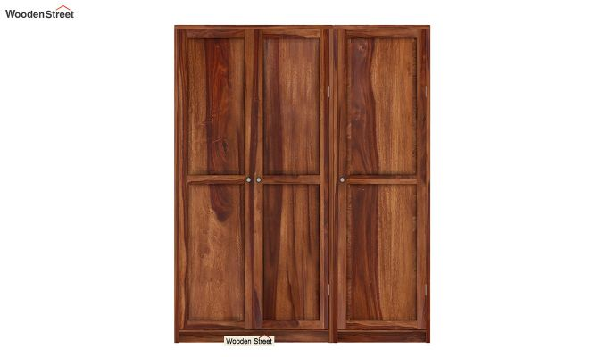 Citroen Multi Utility Wardrobe (Teak Finish)-2