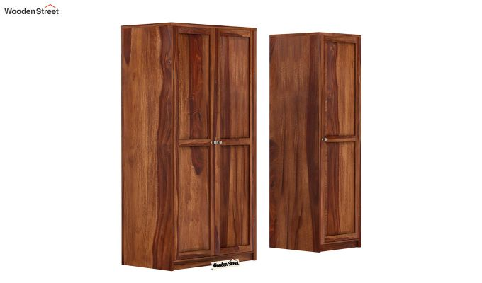Citroen Multi Utility Wardrobe (Teak Finish)-3