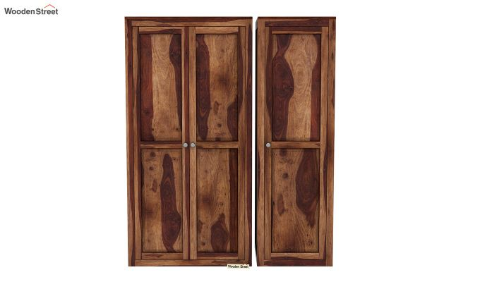 Citroen Multi Utility Wardrobe (Teak Finish)-4