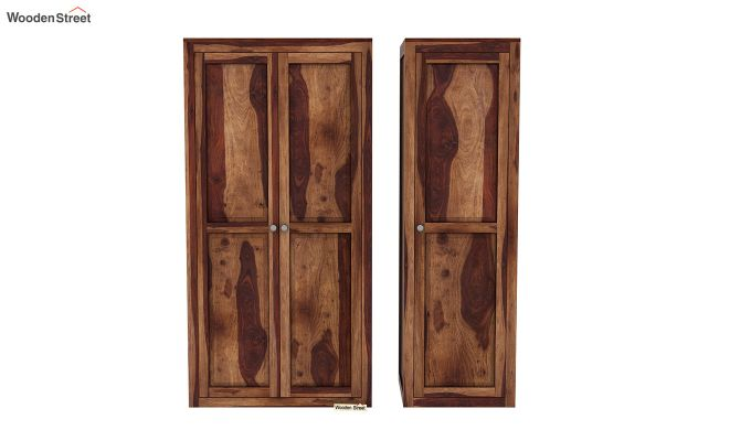 Citroen Multi Utility Wardrobe (Teak Finish)-5