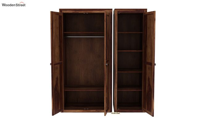 Citroen Multi Utility Wardrobe (Teak Finish)-6