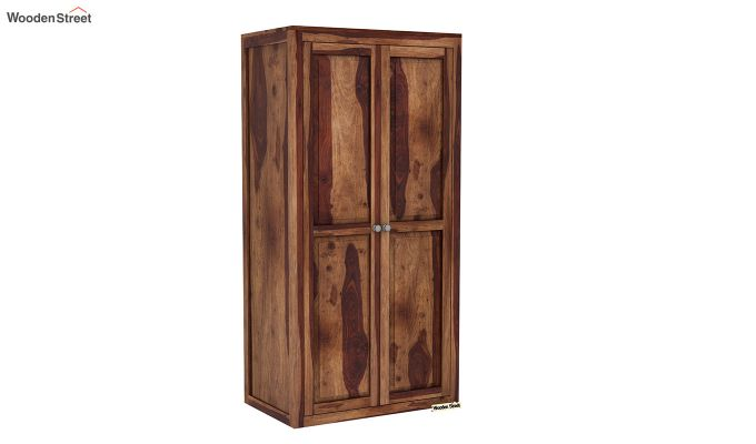 Citroen Multi Utility Wardrobe (Teak Finish)-7