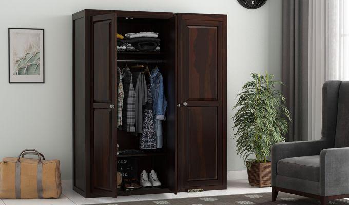 Citroen Multi Utility Wardrobe (Walnut Finish)-1