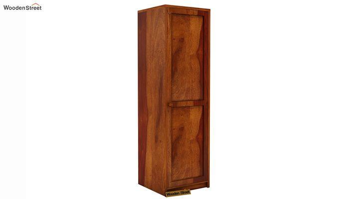 Citroen 1 Door Multi-Utility Wardrobe (Honey Finish)-1