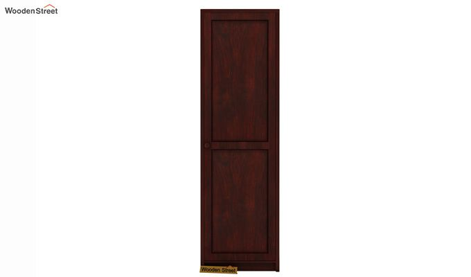 Citroen 1 Door Multi-Utility Wardrobe (Mahogany Finish)-2