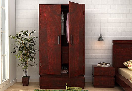 wooden wardrobe furniture online India