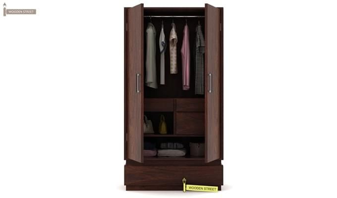 Florian Multi Utility Wardrobe (Walnut Finish)-1