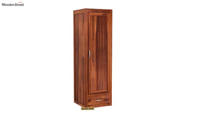 Holden Multi Utility Wardrobe (Honey Finish)-3