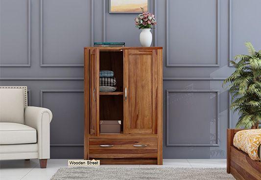 wooden kids storage wardrobes online