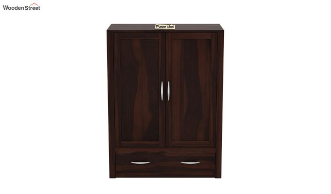 Holden Small Size Wardrobe (Walnut Finish)-3