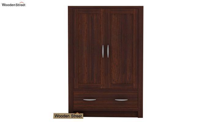 Holden Small Size Wardrobe (Walnut Finish)-2