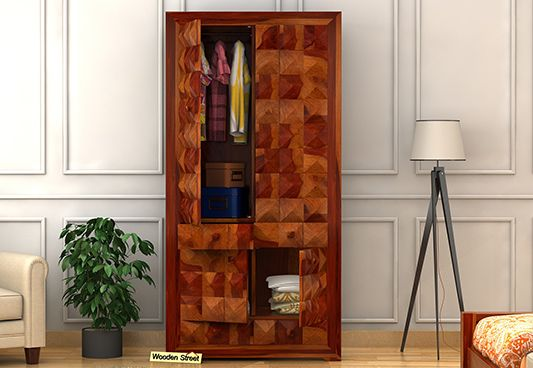 wooden cupboard for clothes at cheap price