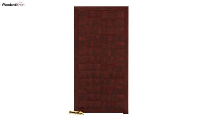 Morse Multi-Utility Wardrobe (Mahogany Finish)-2