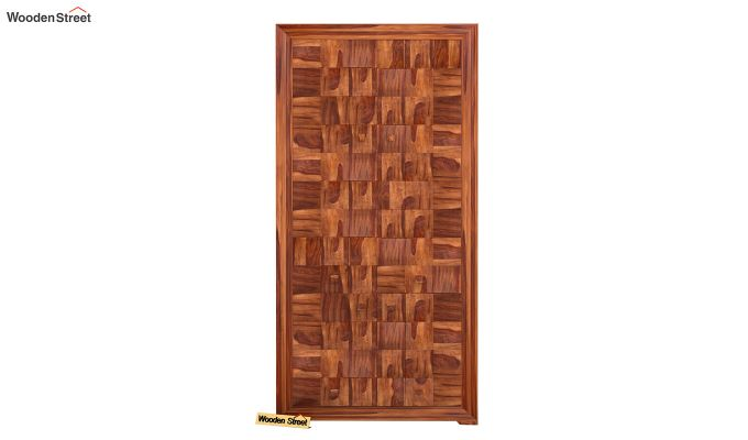 Morse Multi-Utility Wardrobe (Teak Finish)-2