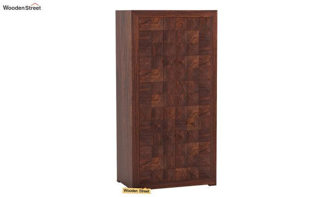 Morse Multi-Utility Wardrobe (Walnut Finish)-1