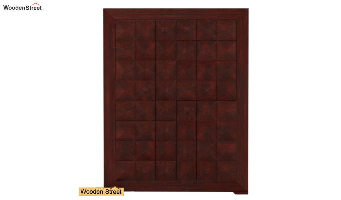 Morse Small Size Wardrobe (Mahogany Finish)-3