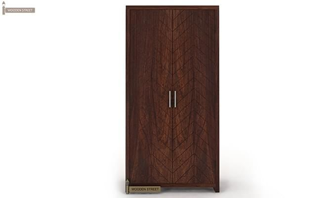 Neeson Multi Utility Wardrobe (Walnut  Finish)-3