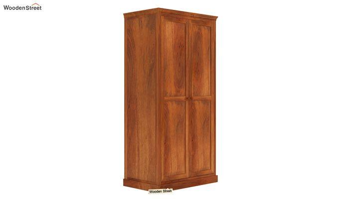 Nixon Multi Utility Wardrobe (Honey Finish)-1