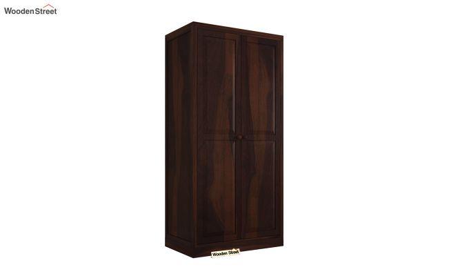 Nixon 2 Door Multi Utility Wardrobe (Walnut Finish)-2