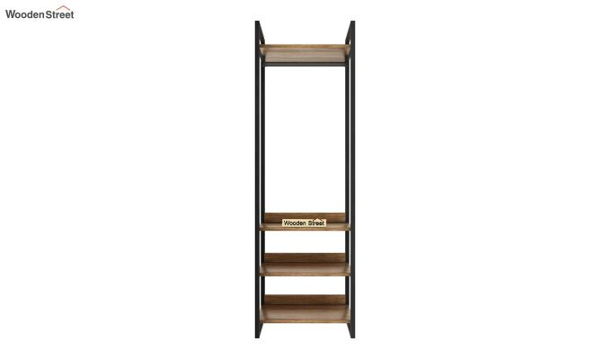 Vegas Multi Utility Loft Wardrobe (Natural Finish)-10