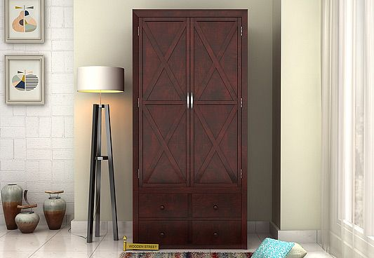 wooden wardrobes & almirah to buy online