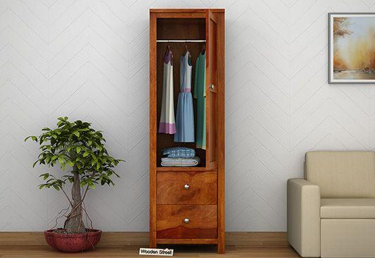 buy wooden wardrobe online India