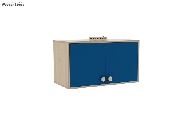 Cherry Multi-Utility Wardrobe with Study Table (Electric Blue)-16