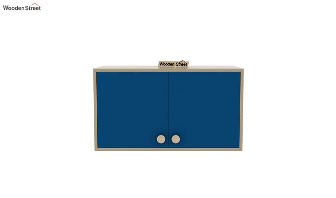 Cherry Multi-Utility Wardrobe with Study Table (Electric Blue)-17