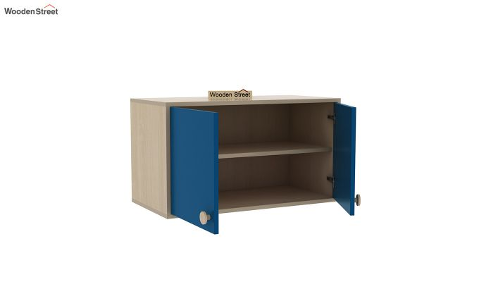 Cherry Multi-Utility Wardrobe with Study Table (Electric Blue)-18