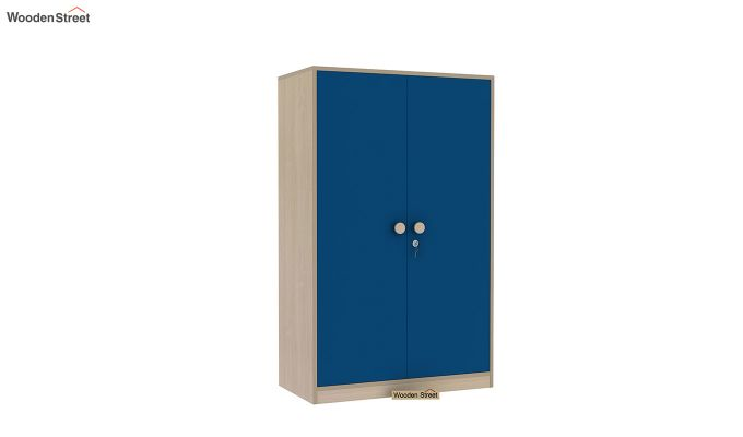 Cherry Multi-Utility Wardrobe with Study Table (Electric Blue)-9