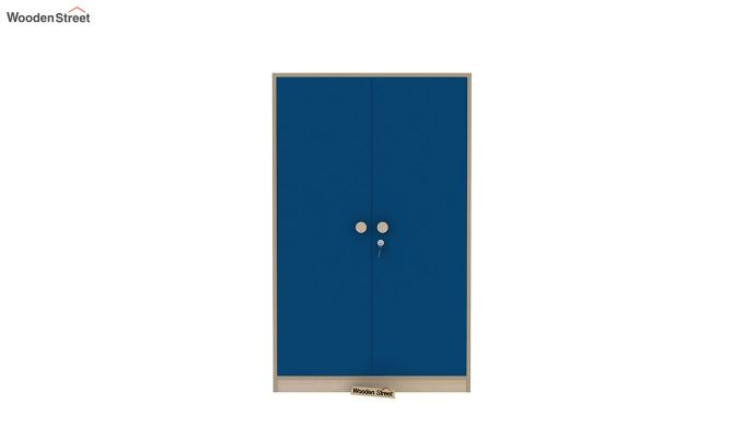 Cherry Multi-Utility Wardrobe with Study Table (Electric Blue)-10
