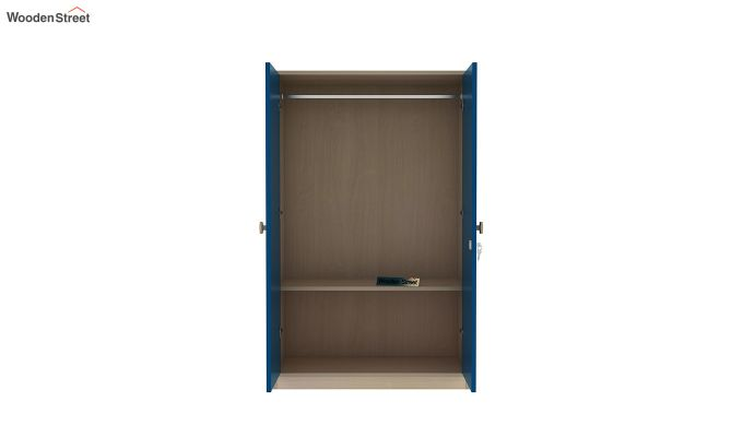 Cherry Multi-Utility Wardrobe with Study Table (Electric Blue)-12