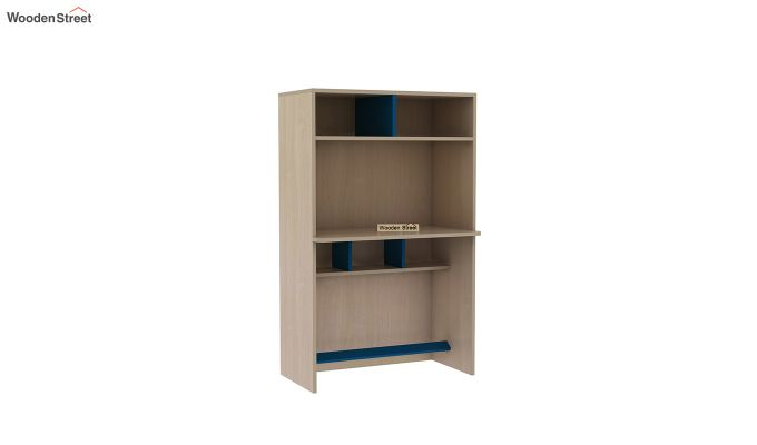 Cherry Multi-Utility Wardrobe with Study Table (Electric Blue)-14