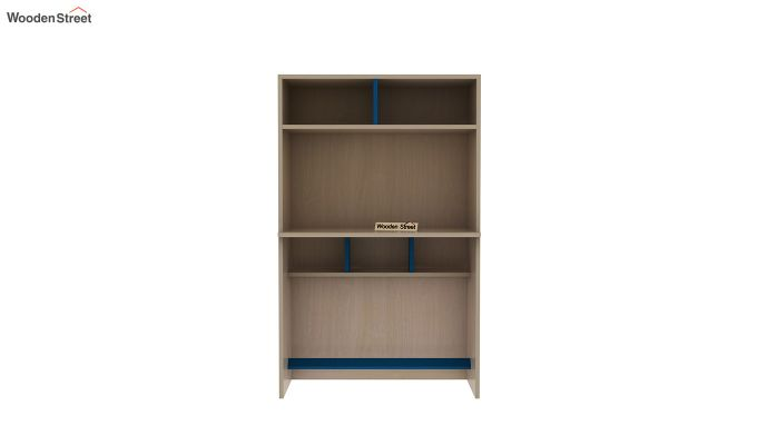 Cherry Multi-Utility Wardrobe with Study Table (Electric Blue)-15