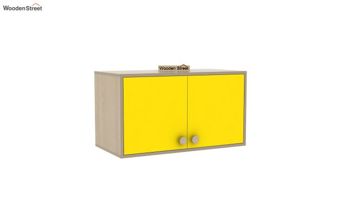 Cherry Study Table with Storage (Marigold Yellow)-5