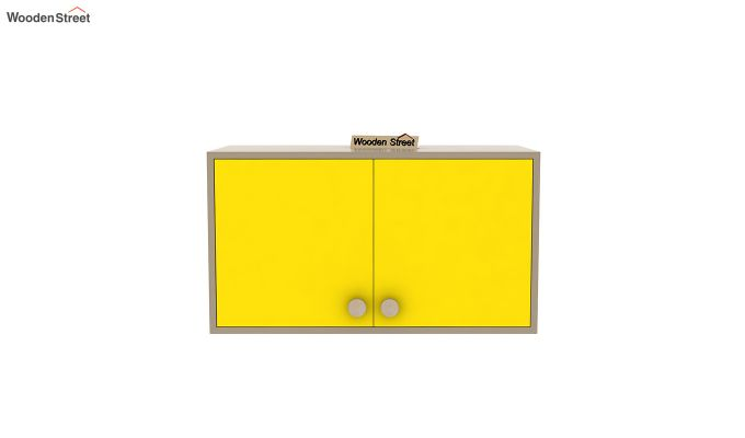 Cherry Study Table with Storage (Marigold Yellow)-6