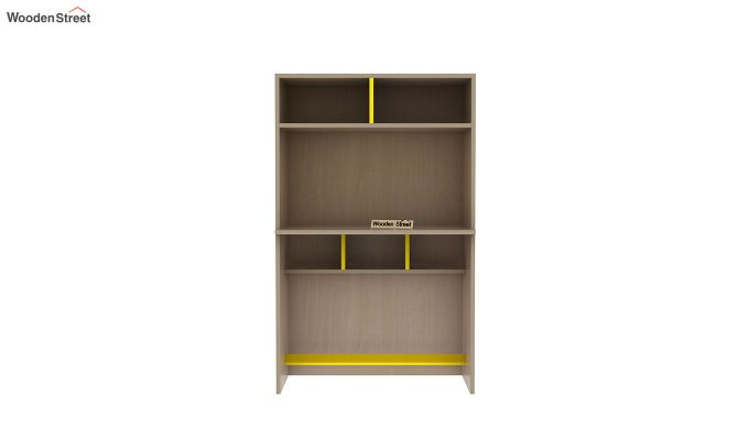 Cherry Study Table with Storage (Marigold Yellow)-4