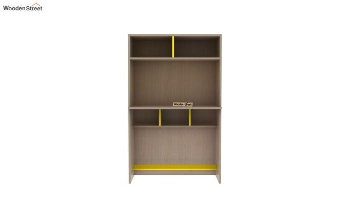 Cherry Multi-Utility Wardrobe with Study Table (Marigold Yellow)-15